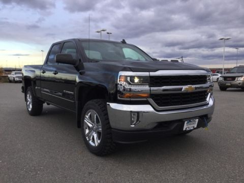 New 2017 CHEVROLET SILVERADO 1500 4WD DOUBLE CAB 143.5 LT