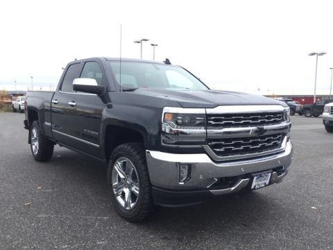 New 2017 CHEVROLET SILVERADO 1500 4WD DOUBLE CAB 143.5 LTZ