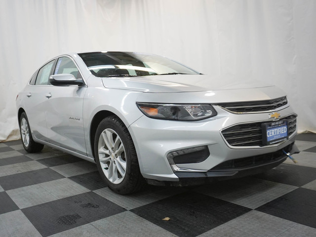 Certified Pre-Owned 2018 Chevrolet Malibu 4dr Sdn LT w/1LT