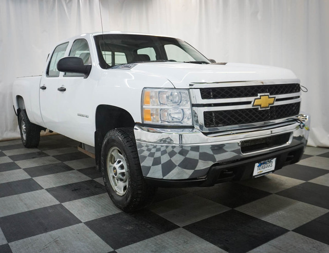 Pre-Owned 2011 Chevrolet Silverado 2500HD 4WD Crew Cab 167.7 Work Truck
