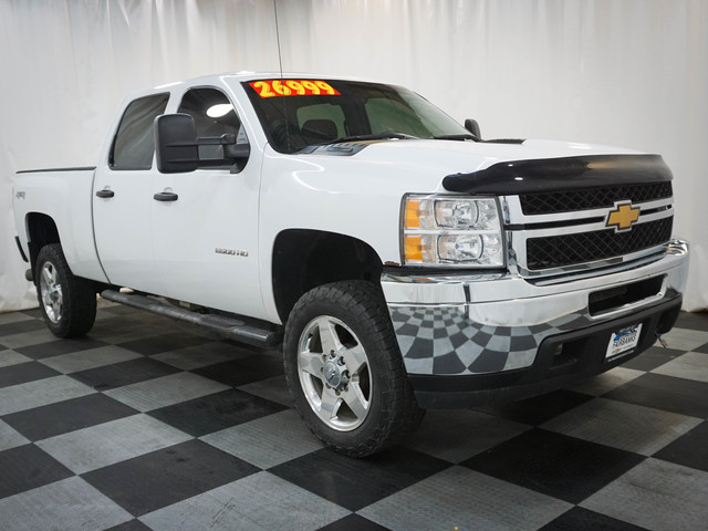 Pre-Owned 2013 Chevrolet Silverado 2500HD 4WD Crew Cab 153.7 Work Truck
