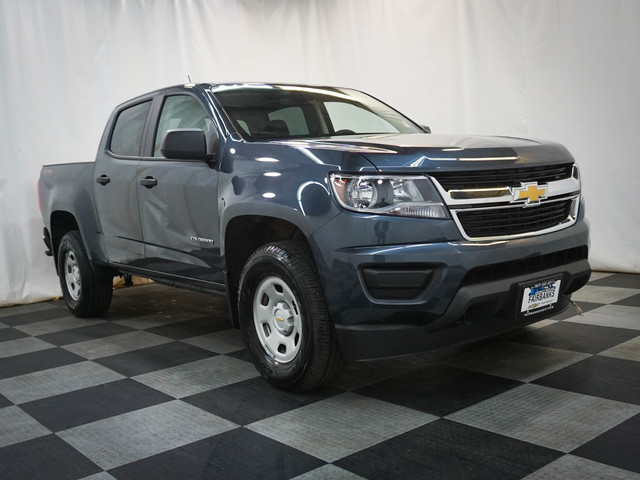 Pre-Owned 2019 Chevrolet Colorado 4WD Crew Cab 128.3 Work Truck