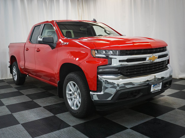New 2019 Chevrolet Silverado 1500 4WD Double Cab 147 LT