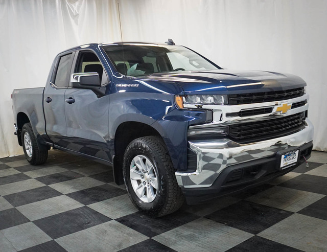 Certified Pre-Owned 2019 Chevrolet Silverado 1500 4WD Double Cab 147 LT