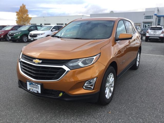 New 2018 CHEVROLET EQUINOX AWD 4DR LT