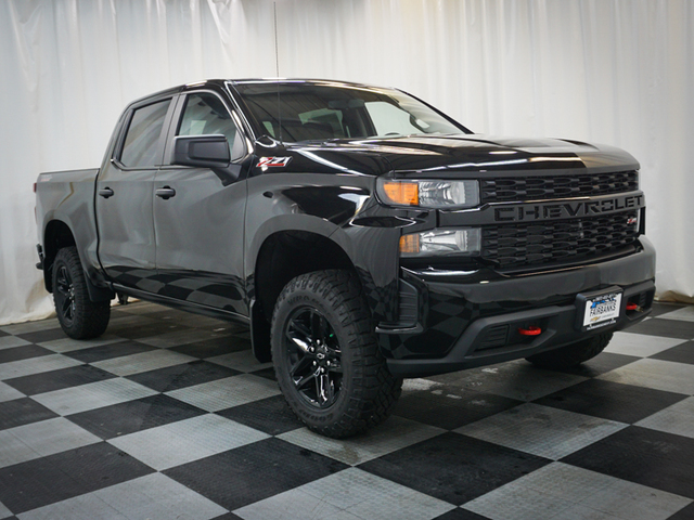 New 2019 Chevrolet Silverado 1500 4WD Crew Cab 147 Custom Trail Boss 4WD
