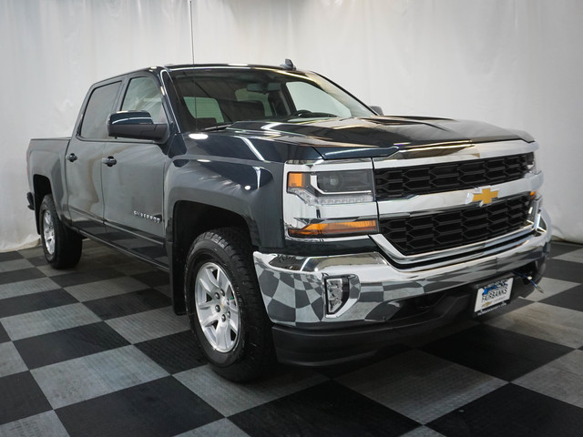 Certified Pre-Owned 2018 Chevrolet Silverado 1500 4WD Crew Cab 143.5 LT w/1LT
