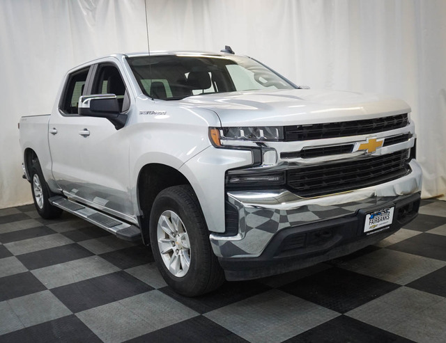 Certified Pre-Owned 2019 Chevrolet Silverado 1500 4WD Crew Cab 147 LT