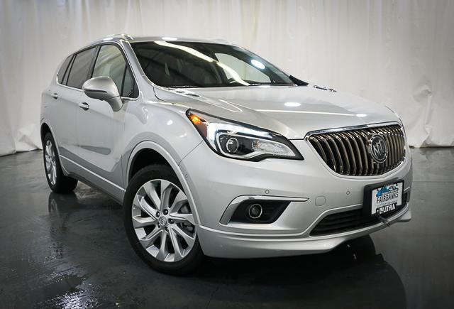 New 2017 BUICK ENVISION 4DR AWD PREMIUM II