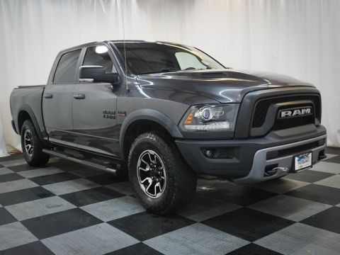 Pre-Owned 2016 Ram 1500 4WD Crew Cab 140.5 Rebel