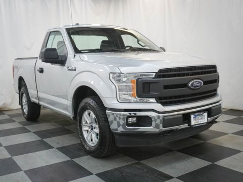 Pre-Owned 2018 Ford F-150 XL 4WD Reg Cab 6.5' Box
