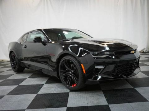 New 2018 Chevrolet Camaro 2dr Cpe Ss W/2ss Rear Wheel Drive 2dr Car