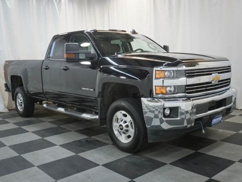 Certified Pre-Owned 2017 Chevrolet Silverado 2500HD 4WD Double Cab 158.1 LT
