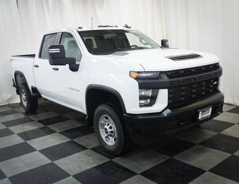New 2020 Chevrolet Silverado 2500HD 4WD Crew Cab 159 Work Truck