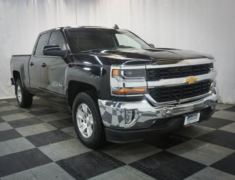 Pre-Owned 2016 Chevrolet Silverado 1500 2WD Double Cab 143.5 LT w/1LT