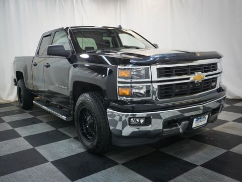 Pre-Owned 2014 Chevrolet Silverado 1500 4WD Double Cab 143.5 LT w/2LT