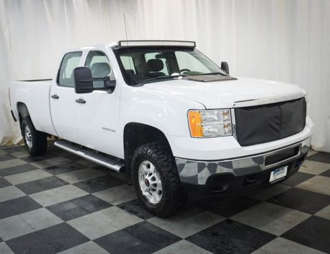 Pre-Owned 2011 GMC Sierra 2500HD 4WD Crew Cab 167.7 Work Truck