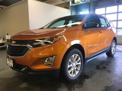 New 2018 Chevrolet Equinox Awd 4dr Ls AWD