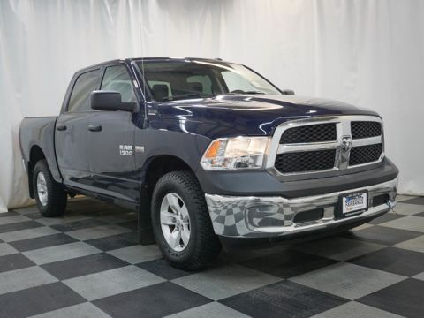 Pre-Owned 2017 Ram 1500 Tradesman 4x4 Crew Cab 5'7 Box