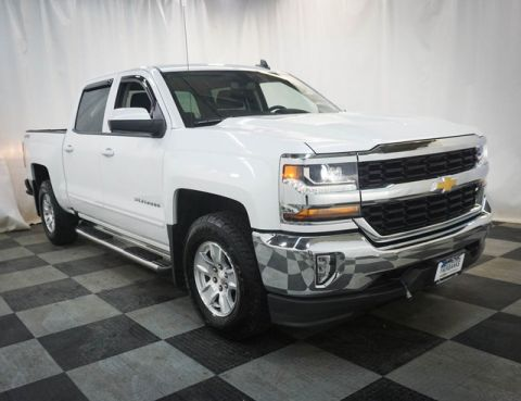 Certified Pre-Owned 2017 Chevrolet Silverado 1500 4WD Crew Cab 143.5 LT w/1LT
