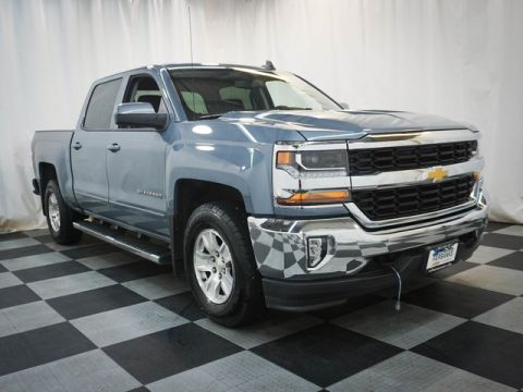 Certified Pre-Owned 2016 Chevrolet Silverado 1500 4WD Crew Cab 143.5 LT w/1LT