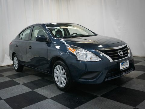 Pre-Owned 2016 Nissan Versa 4dr Sdn Manual 1.6 S